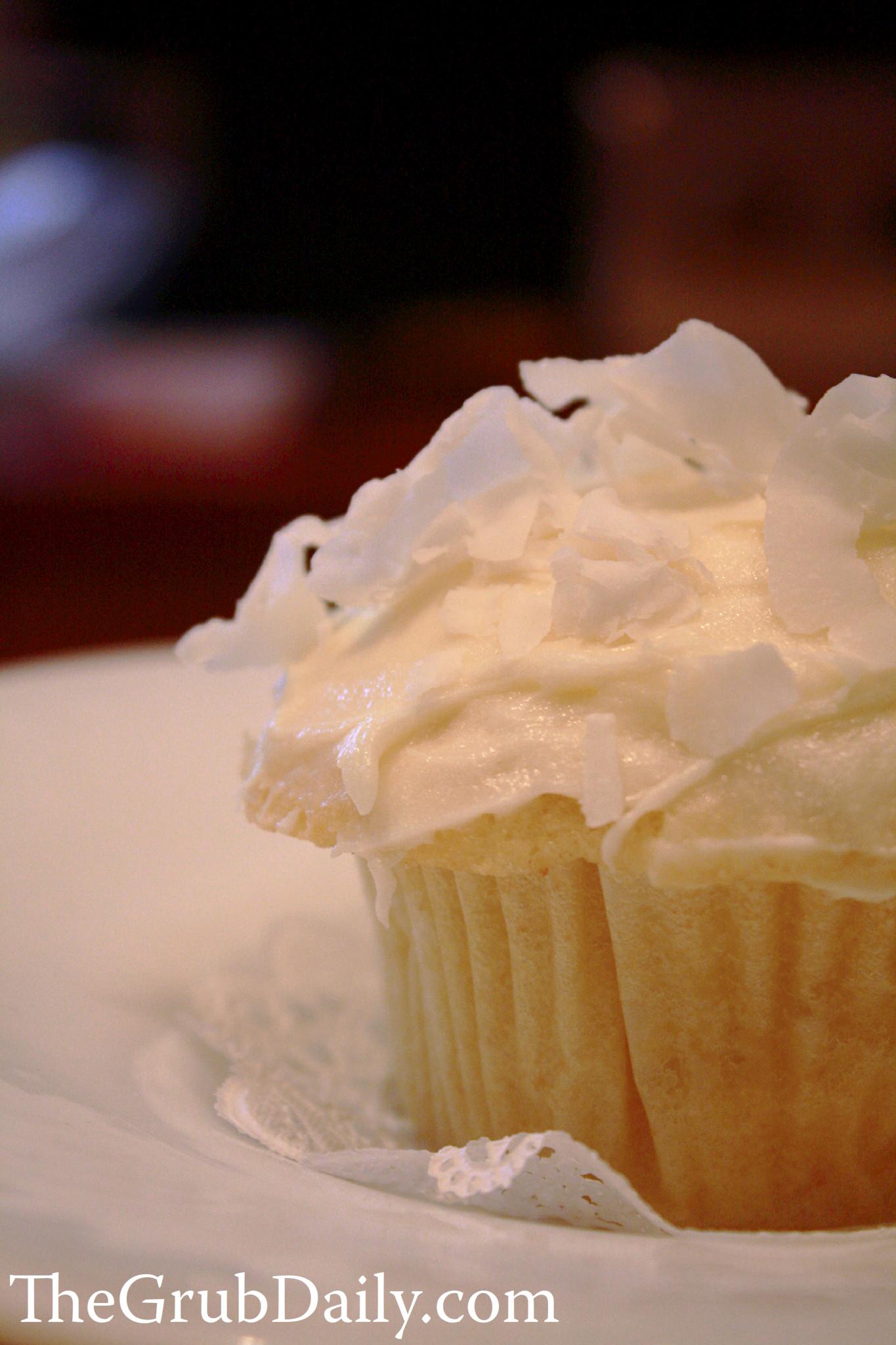 Ina Garten Cream Cheese Frosting ina garten coconut cupcakes | thegrubdaily