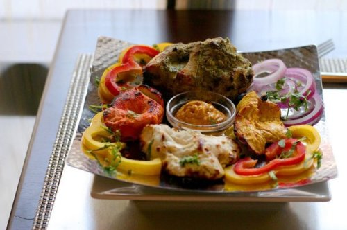 My favorite Vegetarian appetizer was the Bhatti Paneer Tikka , which ...