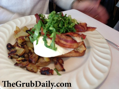 Open Face Sandwich