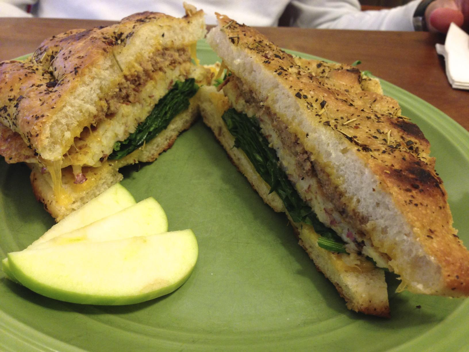 Scrapple Sandwich